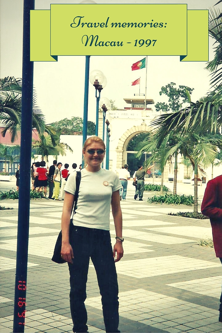 Travel memories: Macau, 1997