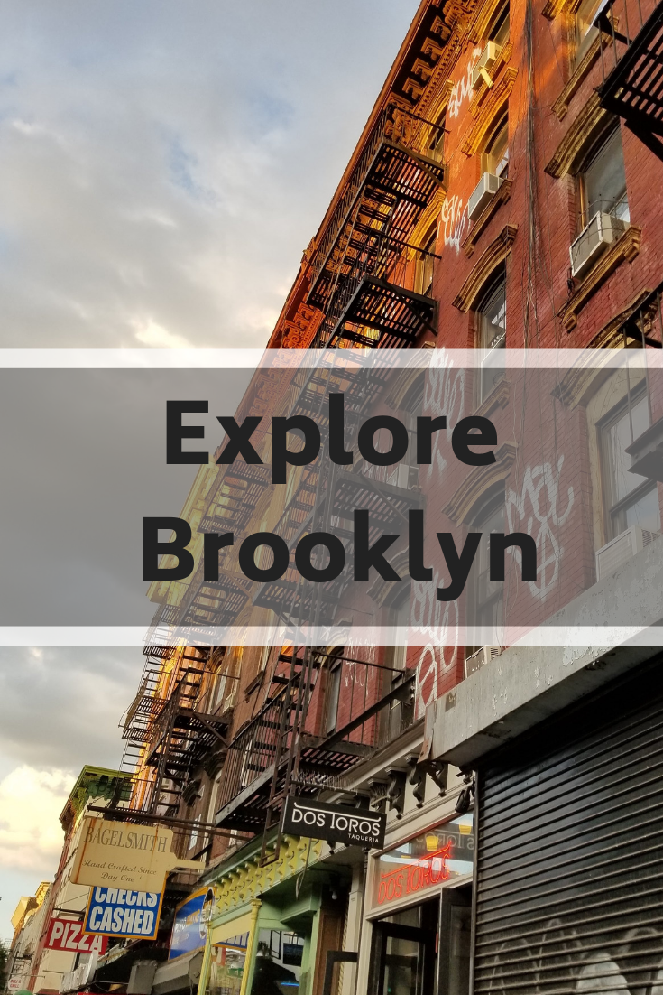 Venture out of Manhattan the next time you visit NYC and explore Brooklyn: the Bridge, Williamsburg, Bushwick, DUMBO, the views #brooklyn #travel #newyork