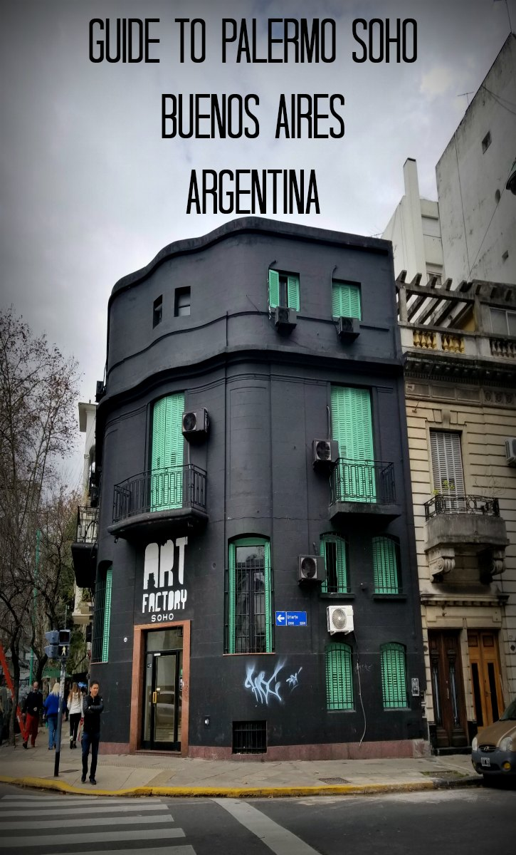 From street art to shopping, to craft cocktails, and from empanadas to spicy curry, Palermo Soho is must-visit area of Buenos Aires #buenosaires #argentina #travel