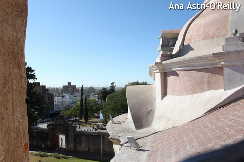 View from behind the espadana (bell dome)