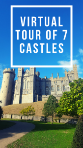 I present you a virtual tour of seven castles. The castles I chose are mainly medieval, or of medieval origins, except one.