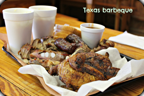 How can I not mention barbeque? We live in Texas and we are spoiled for choice here. However, this tiny place in a tine town called Lexington makes the best barbeque, in my opinion. The meat was incredibly tender and flavoursome. The best part was, for me, that they don't use barbeque sauce to cook it. I prefer to taste the meat, not the sweet sauce.