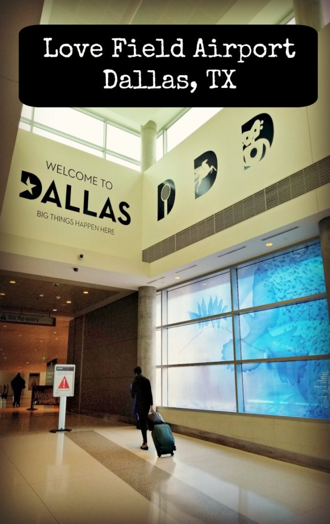Get a behind-the-scenes look at Love Field Airport in Dallas, Texas #Dallas #lovefield #USA