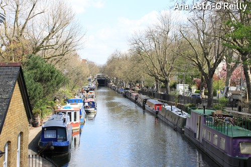View of the canal towards Edgware Road