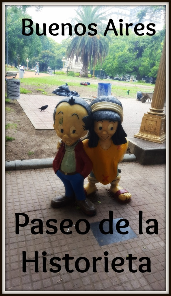 The Paseo de la Historieta is Buenos Aires' homage to Argentinean beloved and iconic cartoon characters. The sculptures are located in San Telmo.