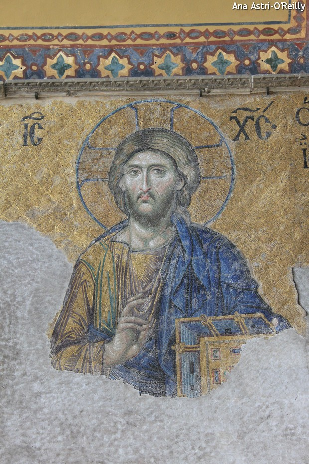 Mosaic depicting Jesus
