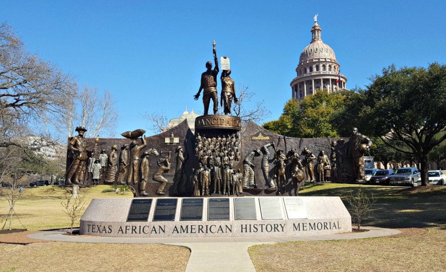 Texas State Capitol Texas African American Memorial