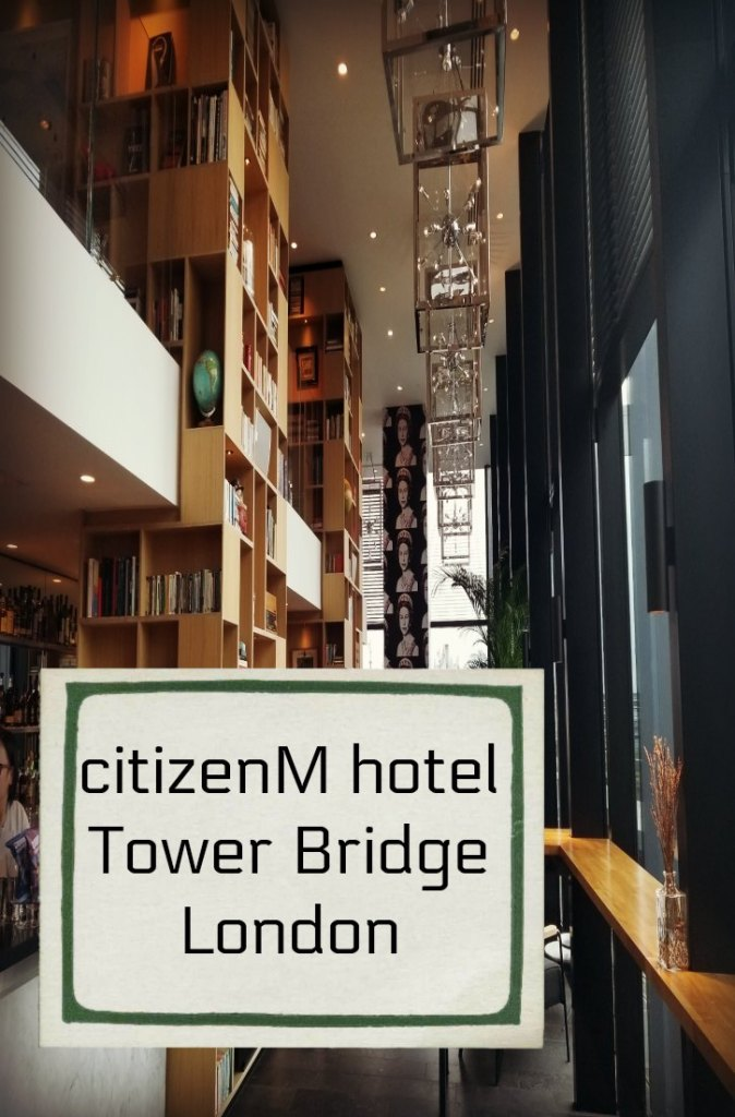 We spent a night at the citizenM Tower Bridge hotel in central London. This affordable luxury hotel is a good choice for a short stay. #England #hotel