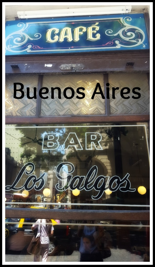 Los Galgos is one of the many historic cafes of Buenos Aires, Argentina. It was founded in 1930 and recently revamped and reopened. Edit snippet