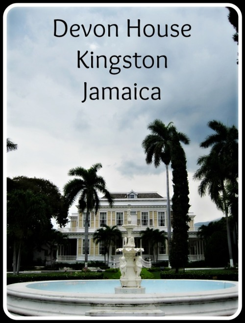 Devon House is a beautiful historic estate located in Kingston, Jamaica.  Built in 1881, it is now a museum.