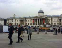 from Trafalgar Square to Covent Garden