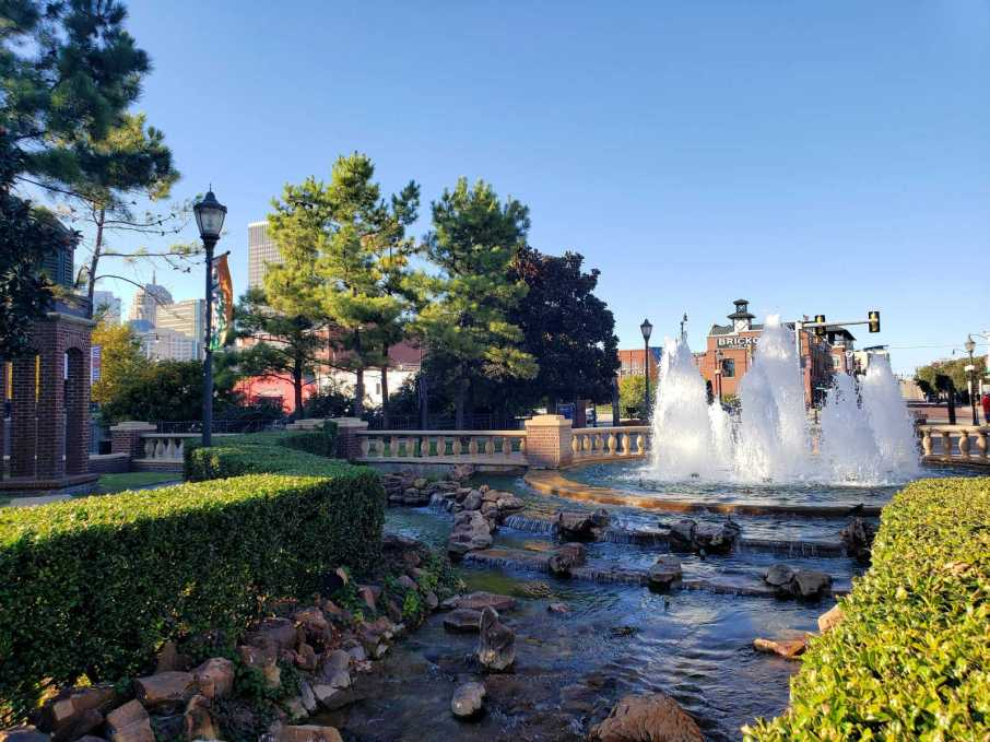 There are many interesting things to do and places to see in Oklahoma City from celebrating its western heritage to visiting the entertainment district. #OKC #travel #traveltips #oklahomacity