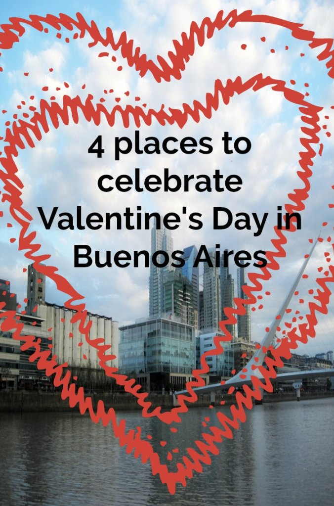 4 ideas of where to celebrate Valentine's Day in Buenos Aires for free #buenosaires #travel #arggentina