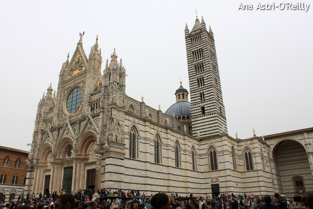 The magnificent cathedral of Siena