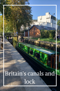 Britain's canals played a key role in the Industrial Revolution. Nowadays, they're used ofr leisure. Read about their history and their use today. #Britain #locks #canals #narrowboats