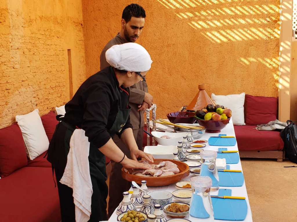 Cooking class in Marrakech