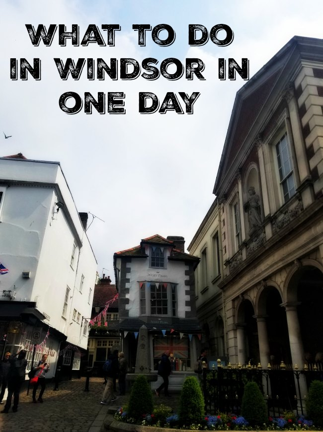 What to see and do in the lovely medieval city of Windsor, home of the Queen and a perfect day trip from London #Windsor #England #travel