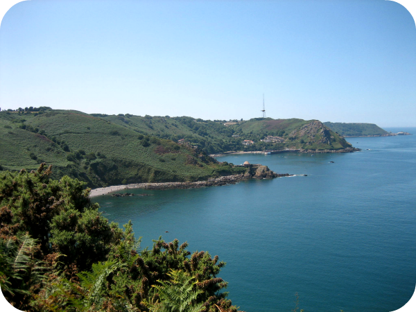 A bracing walk along the cliffs of Jersey puts you in the mood for a fry-up