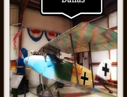 The Cavanaugh Flight Museum of Dallas (Texas) displays military aircraft from the First World War onwards, all in working condition. #Dallas #USA