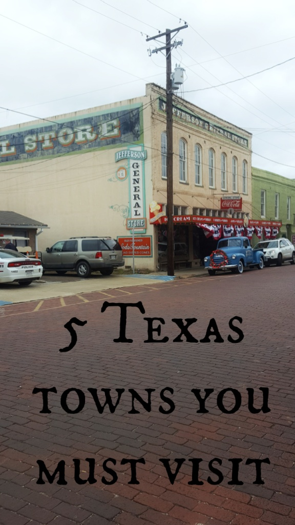Experience Southern gentility and hospitality in these small Texas towns. Each one has a unique heritage forged by its location and history